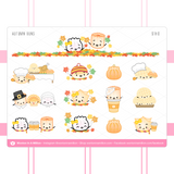 Fall Collection Sticker Set (Set Of 3)