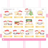 Christmas Collection Sticker Set (Gold Foiled) (Set Of 4)