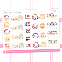 Dimsum Stickers