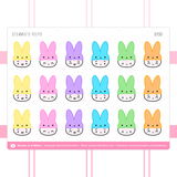 Steamie's Peeps Hats Stickers
