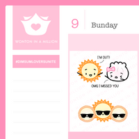 Sunny Day Stickers