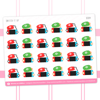 Nintendo Switch Game Playing Stickers