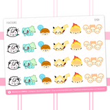 Pokebuns Stickers