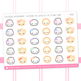Eyelash Appointment Stickers