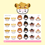 Wonton Upon A Time - Dumpling King Stickers