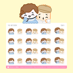 Wonton Upon A Time - The Notebook Stickers