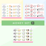 The Money Collection Sticker Set (Set Of 3)
