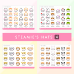 Steamie's Hats (Set Of 4)