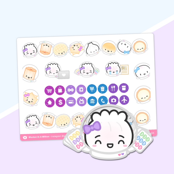 Galaxy - Icon Stickers