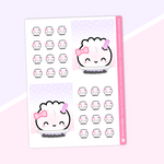 Bubble Tea - Full Boxes Stickers (Vertical Layout) - Jumbo Steamie (Holographic Foiled)