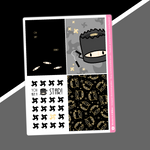Ninja - Full Boxes Stickers - You're A (Ninja) Star (Gold OR Silver Foiled)