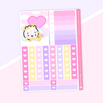 Love Is In The Air - (d) Functional Stickers - Checklists and Flags