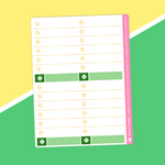 St Patrick's Day 2021 - (H) Full Boxes - Checklists 2 (White)