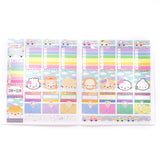 Rainbow Roadtrip - (e) Full Box Stickers - Characters 1 (Steamie)