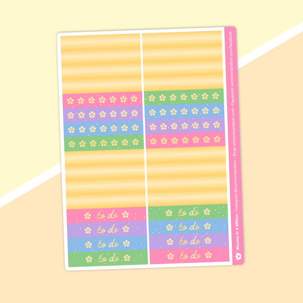 Dawn Tot - (b) Header Stickers (Gold Foiled)