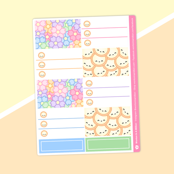 Dawn Tot - (I) Half Boxes - Checklists & Deco