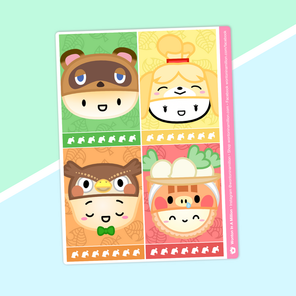 Dimsum Crossing - (E) Full Boxes - Characters 1