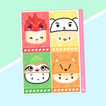 Dimsum Crossing - (G) Full Boxes - Characters 3