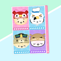 Dimsum Crossing - (H) Full Boxes - Characters 4