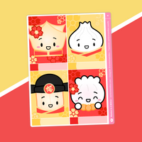 Lunar New Year 2021 - (E) Full Boxes - Characters 1