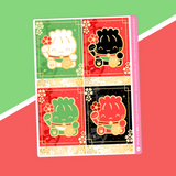 Maneki Neko - (e) Full Box Stickers - Jumbo Nekos