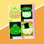 Halloween - (E) Full Boxes - Characters 1 (Glow In The Dark) [oops]
