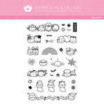 "Clear Stamps - ""Assorted Holidays"" (Lunar New Year, Valentine, Halloween, Christmas)"