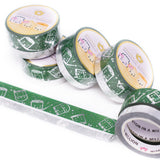 Silver Slytherin Washi (Set Of 2)