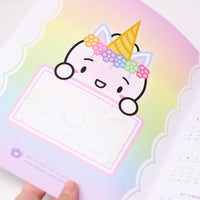 Rainbows & Unicorns - 2021 Planners - A5W (Set Of 2)