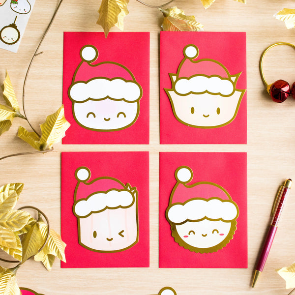 Steam Team Holiday Cards Set (Set Of 8) (50% off)