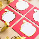 Gold Foiled Steamie Hagao Holiday Card (50% off)