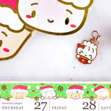 Peeking Santas Washi (15mm)
