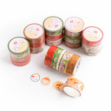 Christmas Washi Collection 2019 (Set Of 5)