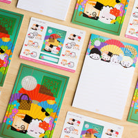 Crazy Rich Dumplings 4x6 Journaling Card