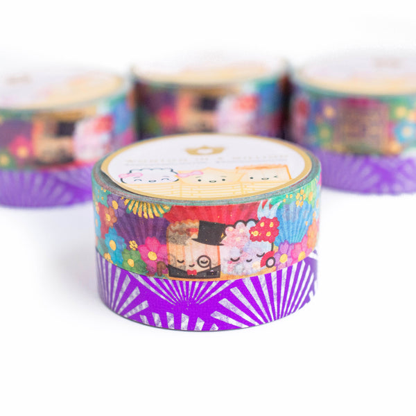 Crazy Rich Dumplings Washi (Set Of 2)