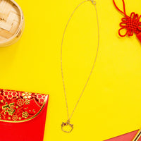 [DAY 11] Lucky Gold Wonton Necklace