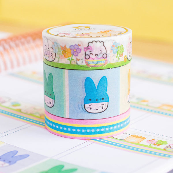 Easter Collection Washi (Set Of 3)
