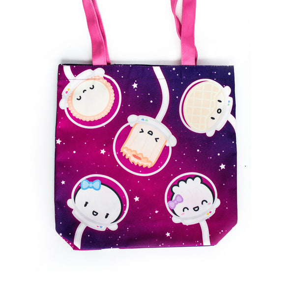 To Infinity and Beyond Galaxy Astronauts Tote Bag