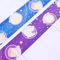 OOPS Galaxy Faceless 15mm Washi (Set Of 2)