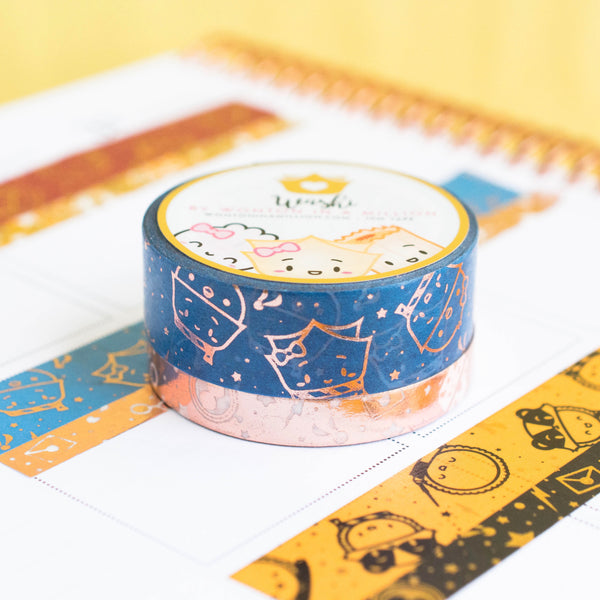 Rose Gold Ravenclaw Washi (Set Of 2)