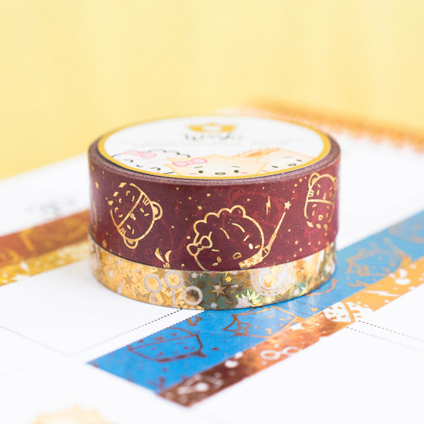 Starry Golden Gryffindor Washi (Set Of 2)