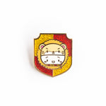 Steamie's Gryffindor Hat Badge Glitter Enamel Pin