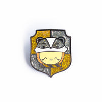 Dawn's Hufflepuff House Hat Badge