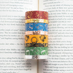 Wizard House Hats Washi (Set Of 8)