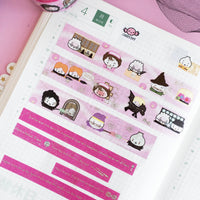 [BOOK 5] Hagao Potter Washi + Stickers Bundle