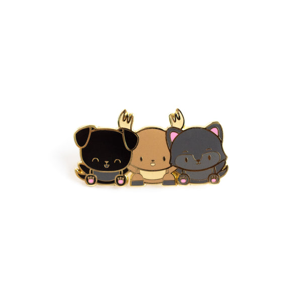The Marauders Gold Enamel Pin