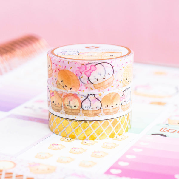 Ice Cream Washi Collection (Set Of 3)