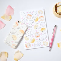 All The Dimsum Puns Notebook (Standard Size - Blank/Dot Grid Pages)