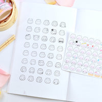 "Clear Stamps - ""Steamie Emojis"""