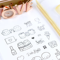 "Clear Stamps - ""Date Night"""